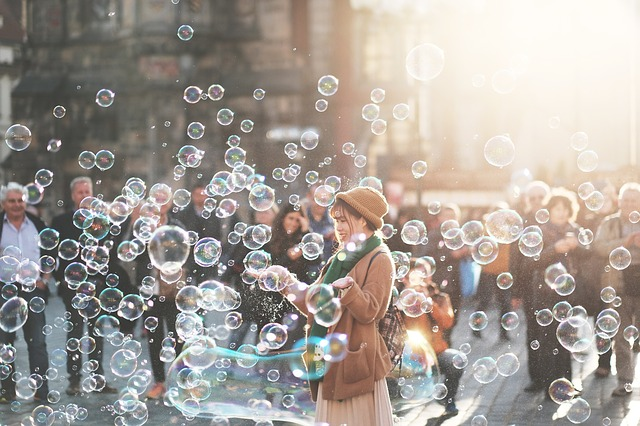 Bubbles and People